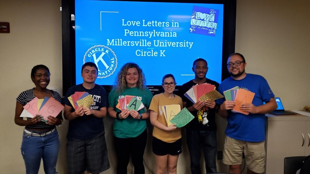 Bryan, Millersville University, Circle K Service Club, Pennsyslvania